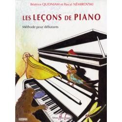 Les Leçons de Piano -...