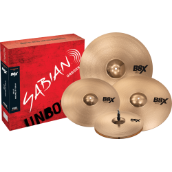 Pack Cymbales Sabian B8X...