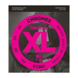 D'addario 45-100 Chrome...