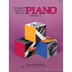 Méthode de piano Bastien -...